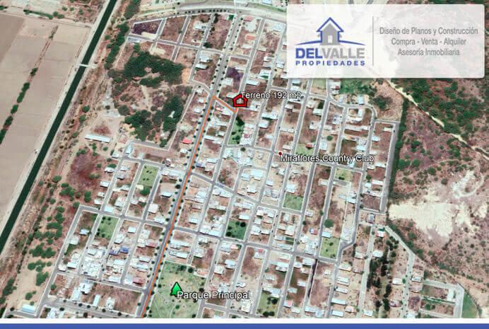 Venta Terreno Miraflores Country Club 192m2 RAMCC 005